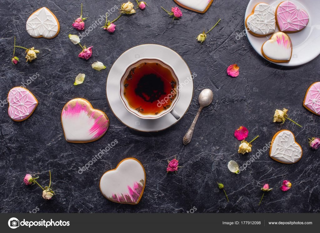 St. Valentines Day Stock Photos & Images. Photo Deal: 100 Royalty-free Photos & Vectors – $69! - depositphotos 177912098 stock photo valentines day flat lay cup