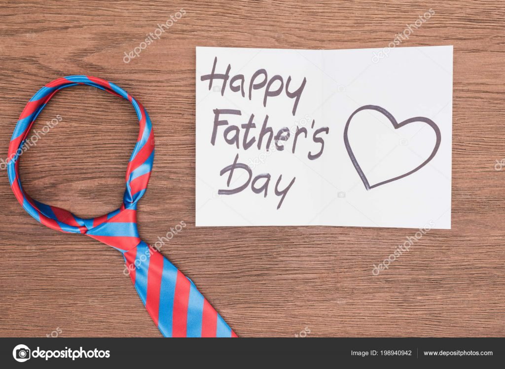 130+ Best Free Happy Fathers Day Graphics 2020: Images, Clipart, Fonts - depositphotos 198940942 stock photo top view vivid tie happy