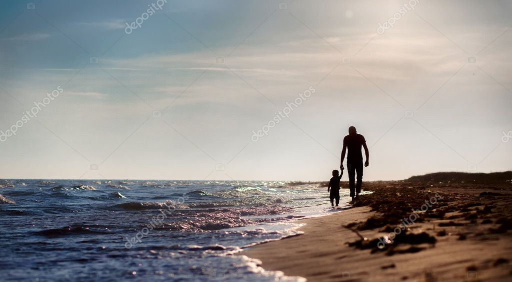 130+ Best Free Happy Fathers Day Graphics 2020: Images, Clipart, Fonts - depositphotos 21423267 stock photo father and son to the