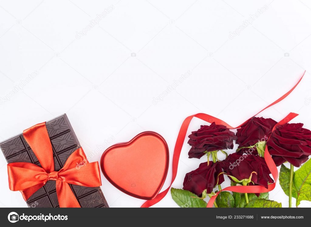 1000+ Free Happy Valentines Day Images - depositphotos 233271686 stock photo top view chocolate wrapped festive