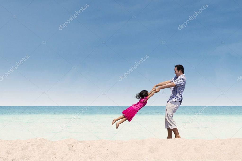 130+ Best Free Happy Fathers Day Graphics 2020: Images, Clipart, Fonts - depositphotos 25431909 stock photo happy time with dad at