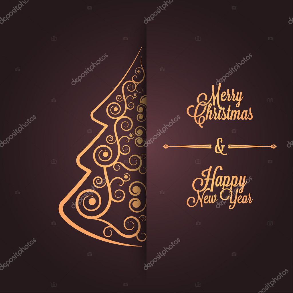 600+ Best Free Merry Christmas Images & New Year Pictures 2021 - depositphotos 30904145 stock illustration holiday frame happy merry christmas