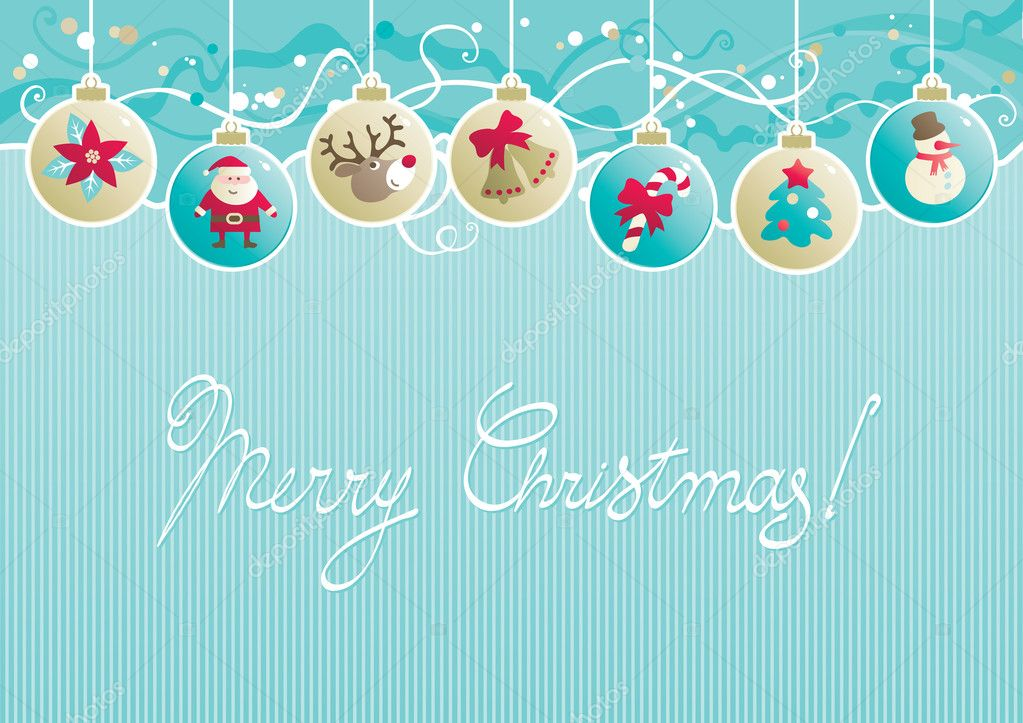 600+ Best Free Merry Christmas Images & New Year Pictures 2021 - depositphotos 33704611 stock illustration christmas background