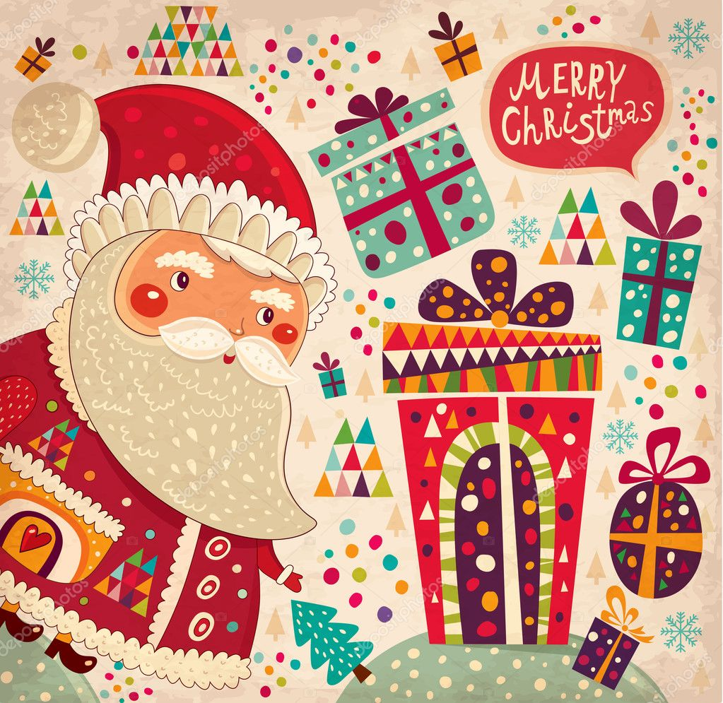 600+ Best Free Merry Christmas Images & New Year Pictures 2021 - depositphotos 34052943 stock illustration merry christmas and happy new