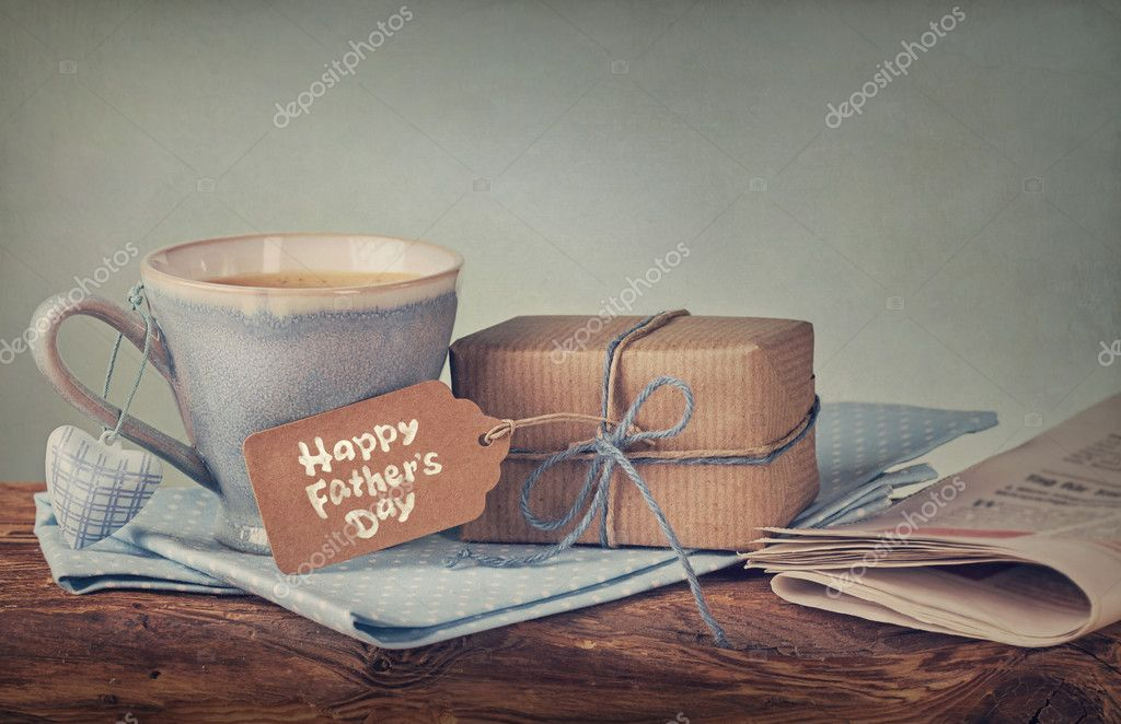 130+ Best Free Happy Fathers Day Graphics 2020: Images, Clipart, Fonts - depositphotos 44444105 stock photo present for fathers day