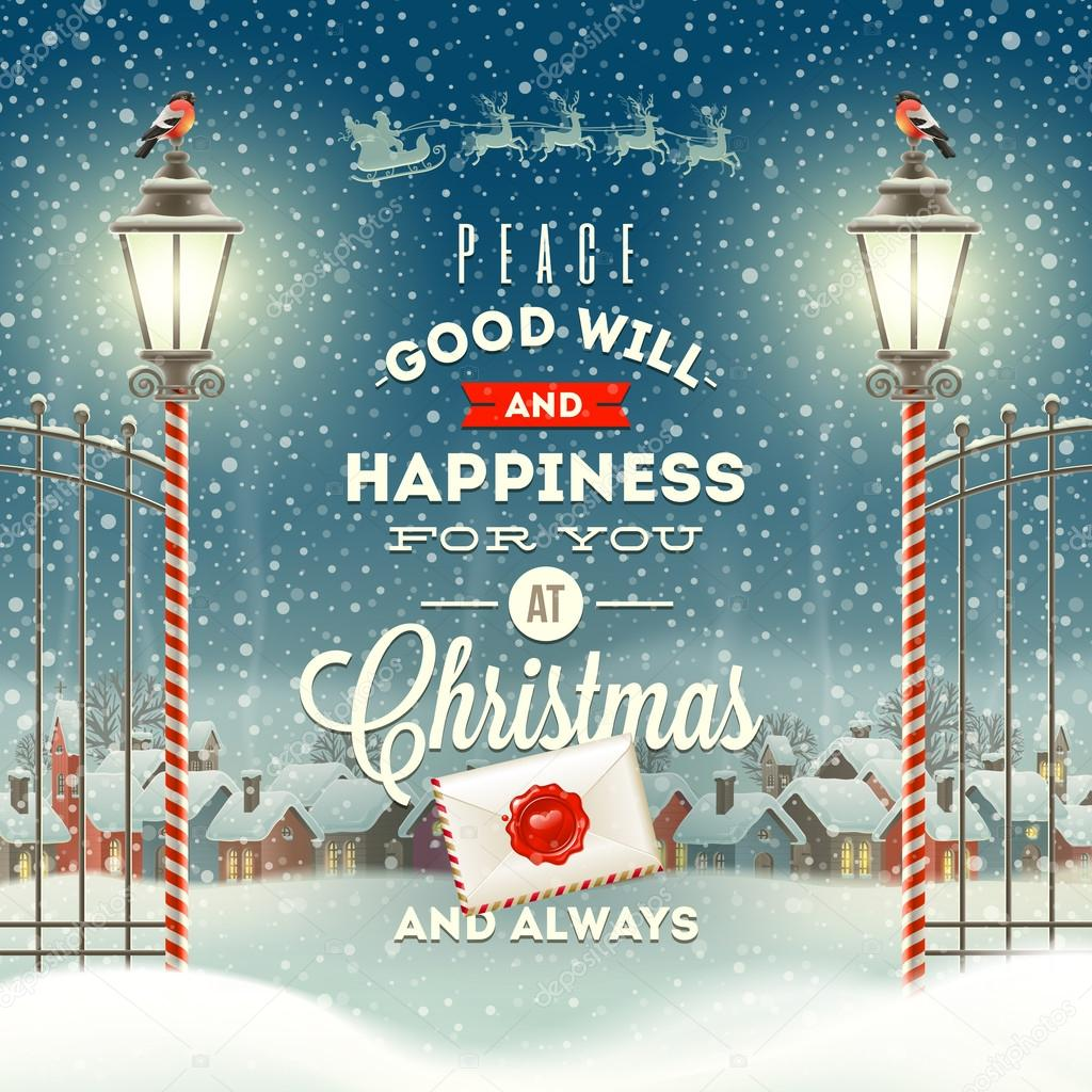 600+ Best Free Merry Christmas Images & New Year Pictures 2021 - depositphotos 54285561 stock illustration christmas greeting type design with