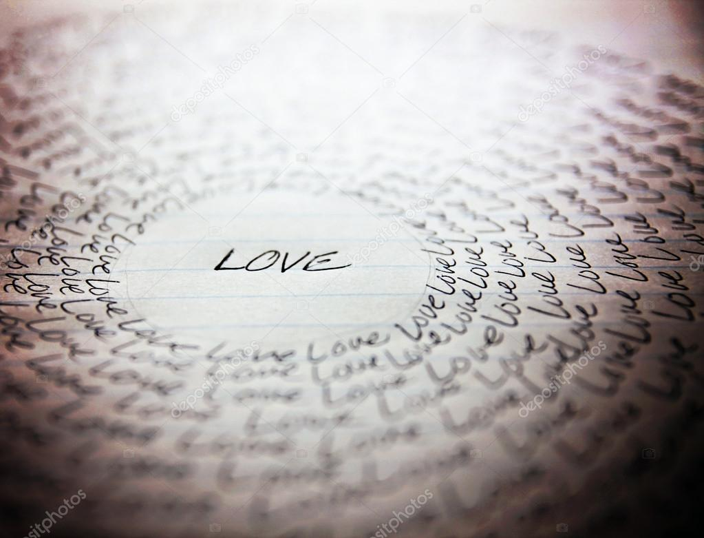 1000+ Free Happy Valentines Day Images - depositphotos 59131245 stock photo word love written on lined