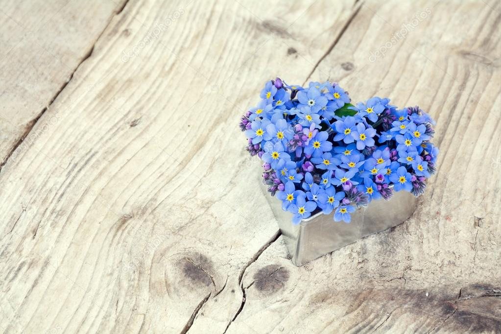 1000+ Free Happy Valentines Day Images - depositphotos 71696373 stock photo heart shape with forget me