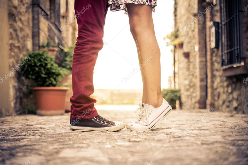 1000+ Free Happy Valentines Day Images - depositphotos 73229093 stock photo young couple kissing outdor