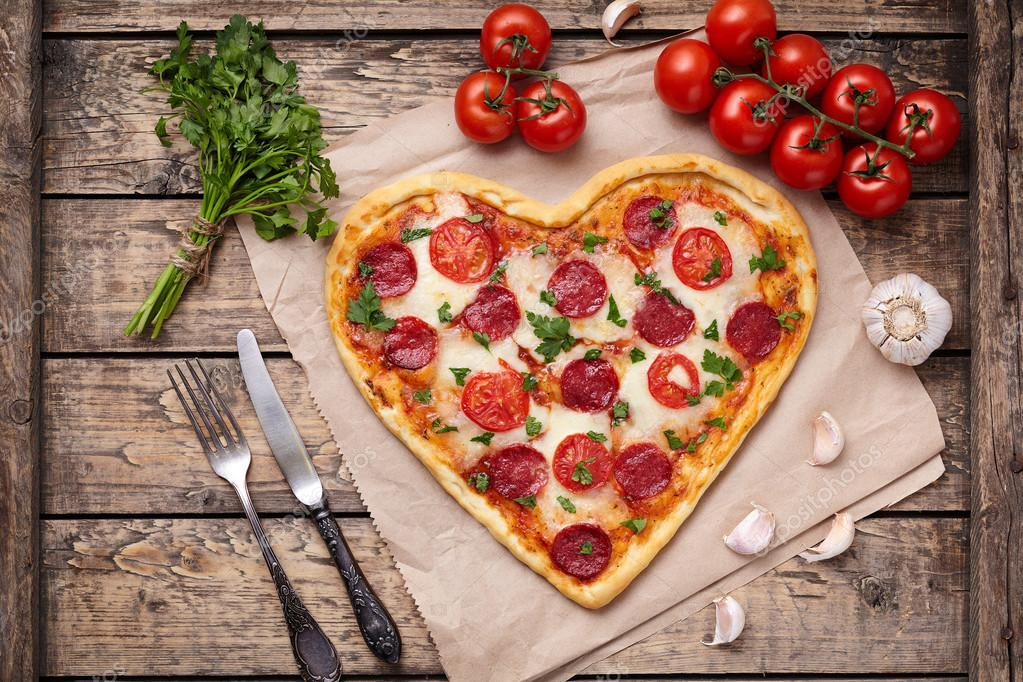 St. Valentines Day Stock Photos & Images. Photo Deal: 100 Royalty-free Photos & Vectors – $69! - depositphotos 96404412 stock photo heart shaped pizza for valentines