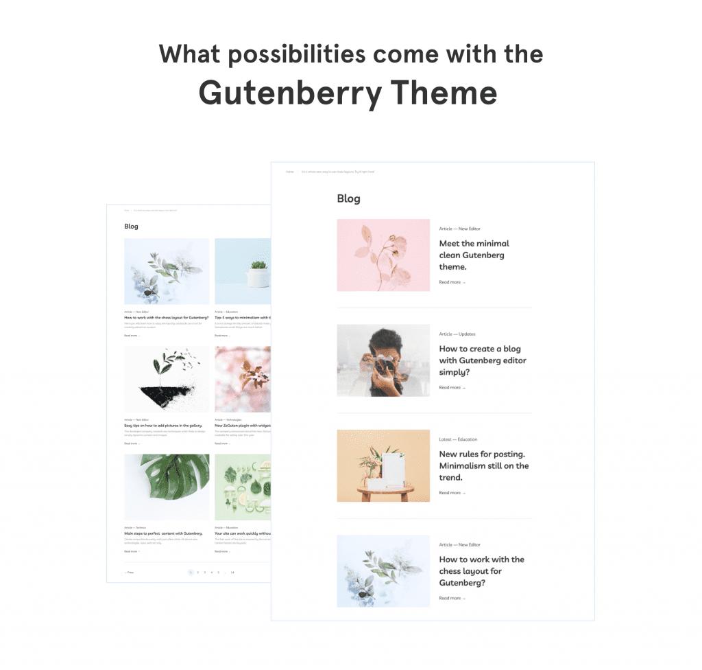 Gutenberg 3-in-1 Bundle:  Gutenberry Theme, ZeGuten Plugin and Extra Presentation - image2