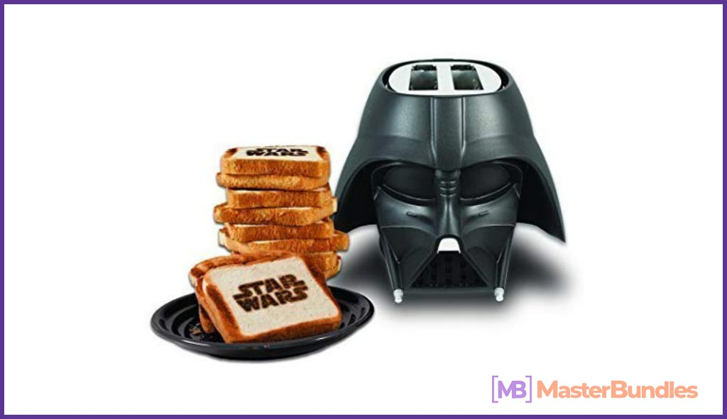 Star Wars Darth Vader Elite 2-Slice Toaster