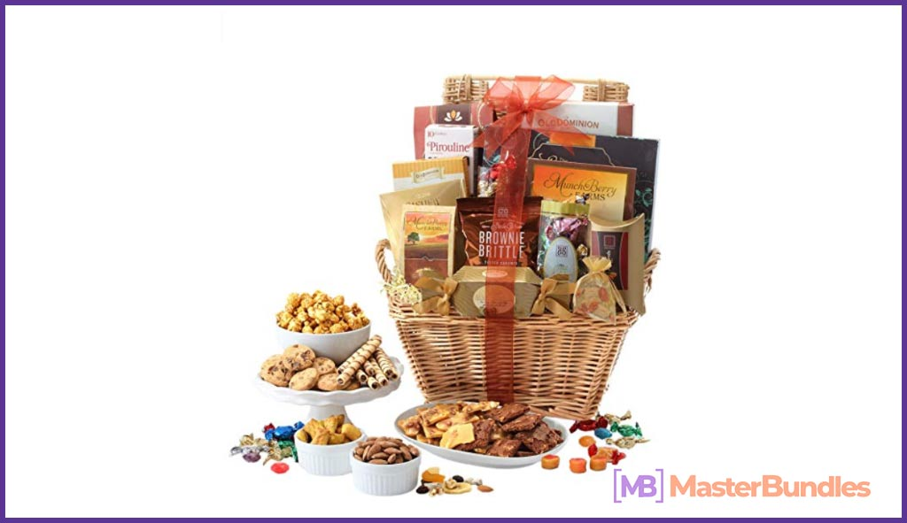 Broadway Basketeers Gift Basket Deluxe. Valentine's Day Gifts for Photographers