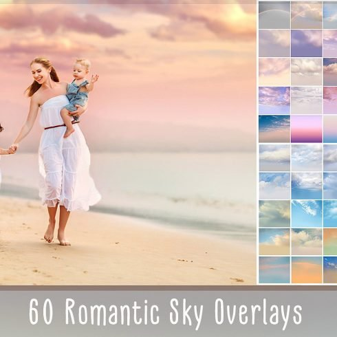 Romantic Sky Photo Overlays - $9 - 690 2 490x490