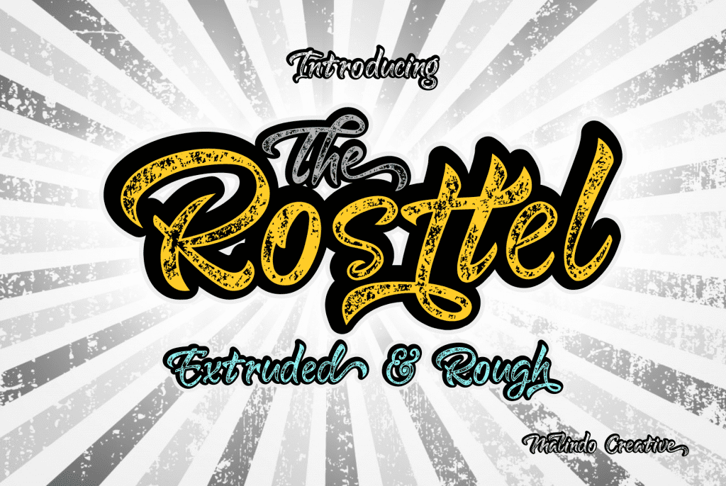 Rosttel Extruded & Rough - $10 - View1 1