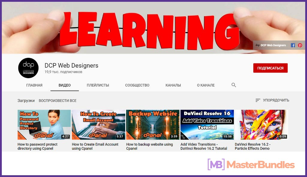 70 YouTube Channels For Learning Web Design in 2020 - YouTubeChannels11