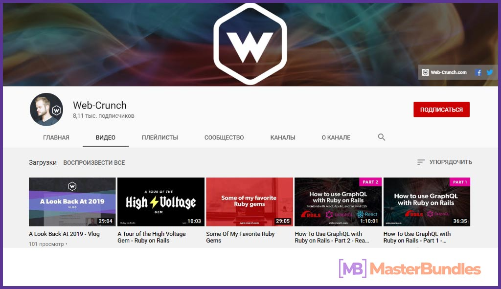 70 YouTube Channels For Learning Web Design in 2020 - YouTubeChannels13
