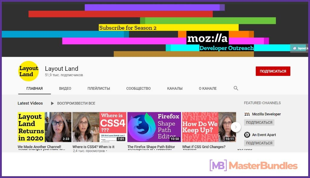 70 YouTube Channels For Learning Web Design in 2020 - YouTubeChannels3