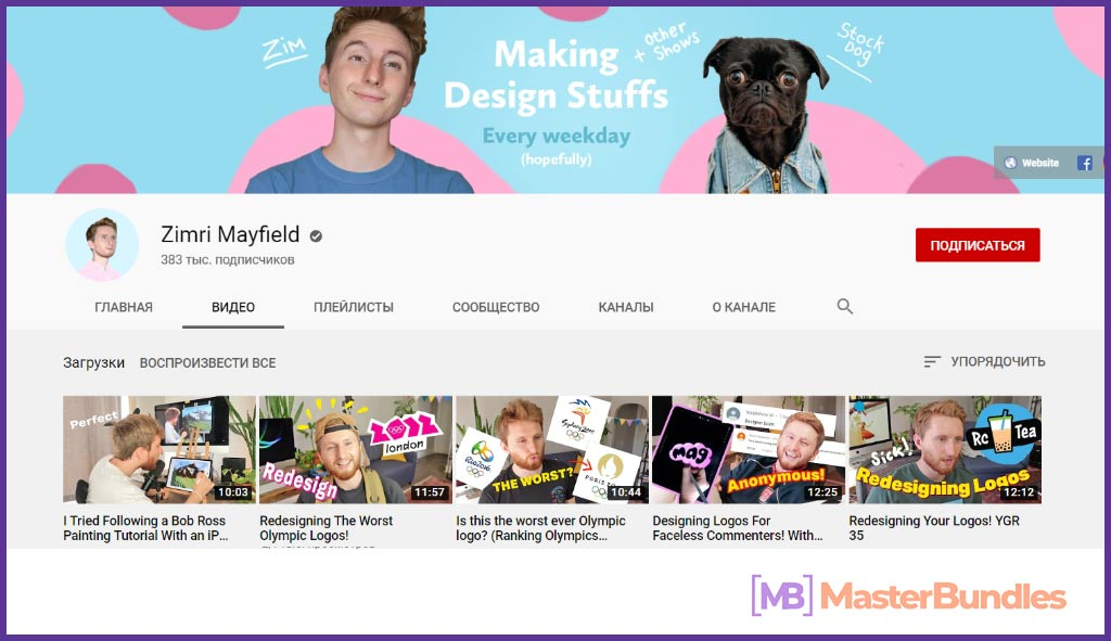 70 YouTube Channels For Learning Web Design in 2020 - YouTubeChannels4