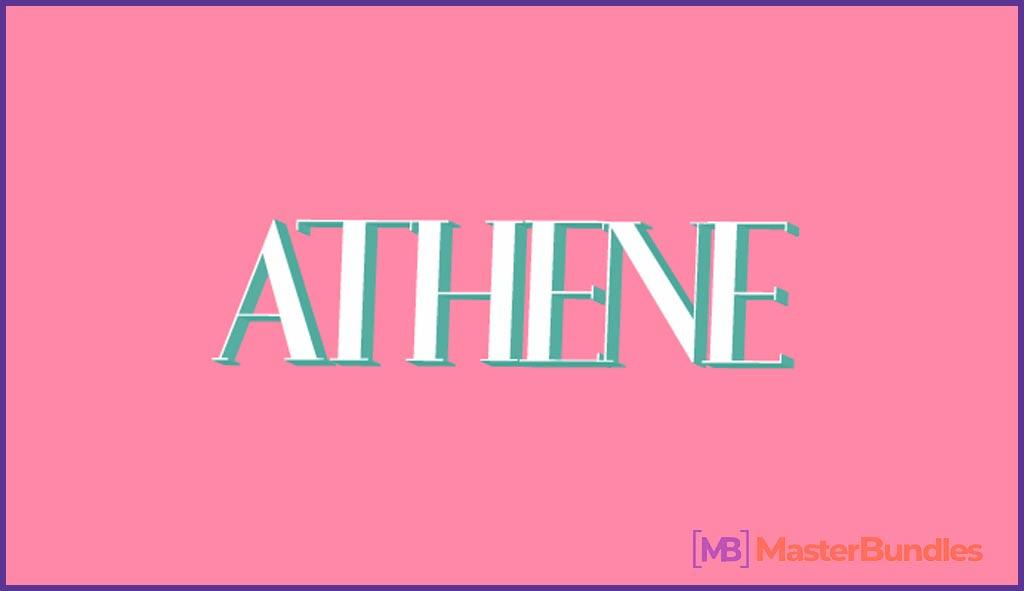 Athene Urban Font