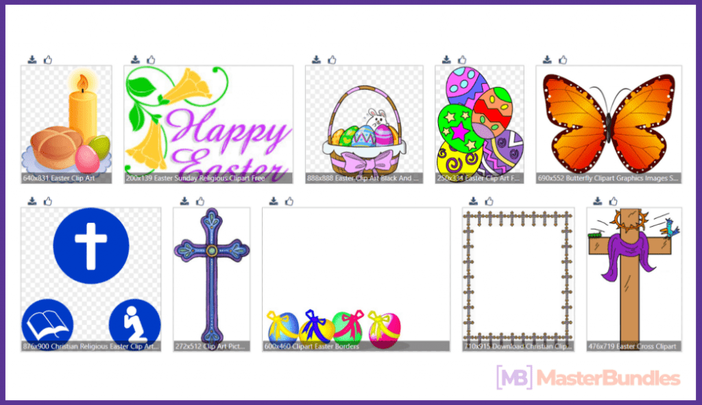 50+ Best Easter Clipart in 2020 - best easter clipart 54