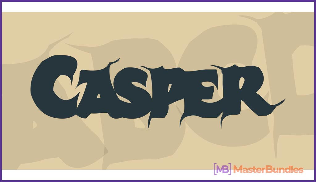 Casper sans serif free Urban font