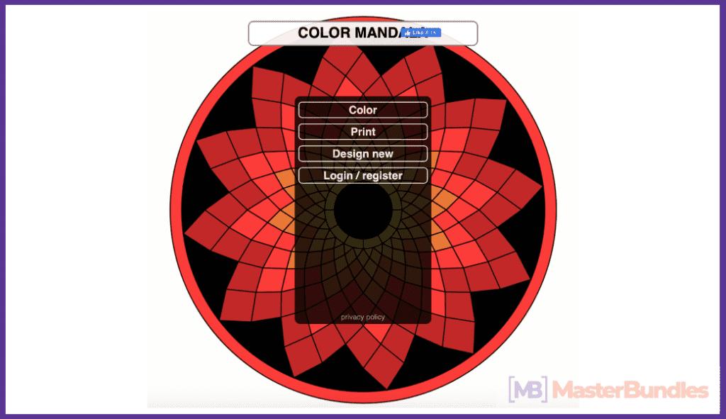 Color Mandala.