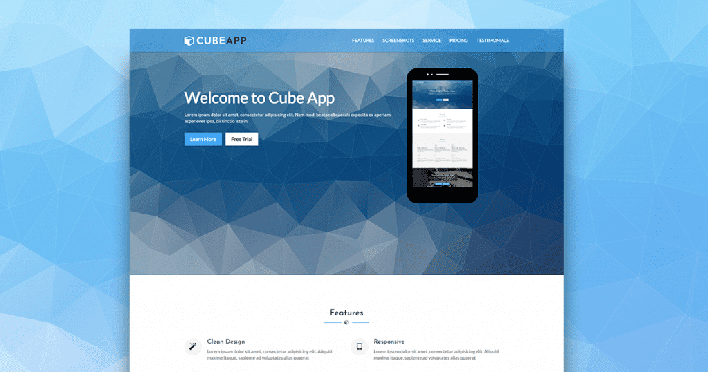 28 Premium HTML Templates Bundle - $5 - cube