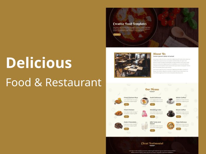 28 Premium HTML Templates Bundle - $5 - delicious