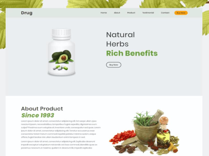 28 Premium HTML Templates Bundle - $5 - drug
