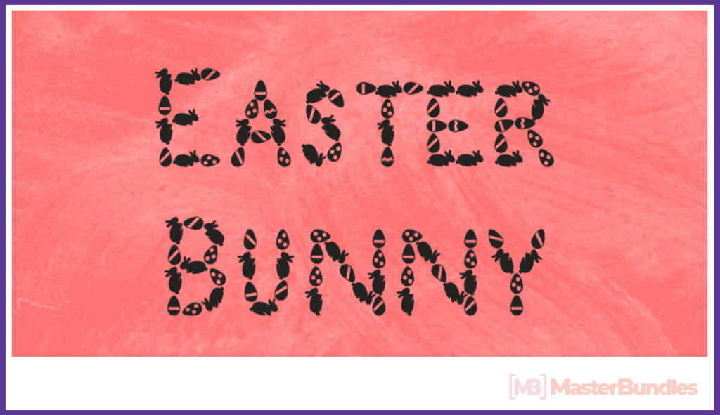 30+ Free and Premium Easter Fonts in 2020 - free easter fonts 08