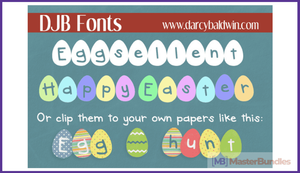 30+ Free and Premium Easter Fonts in 2020 - free easter fonts 29