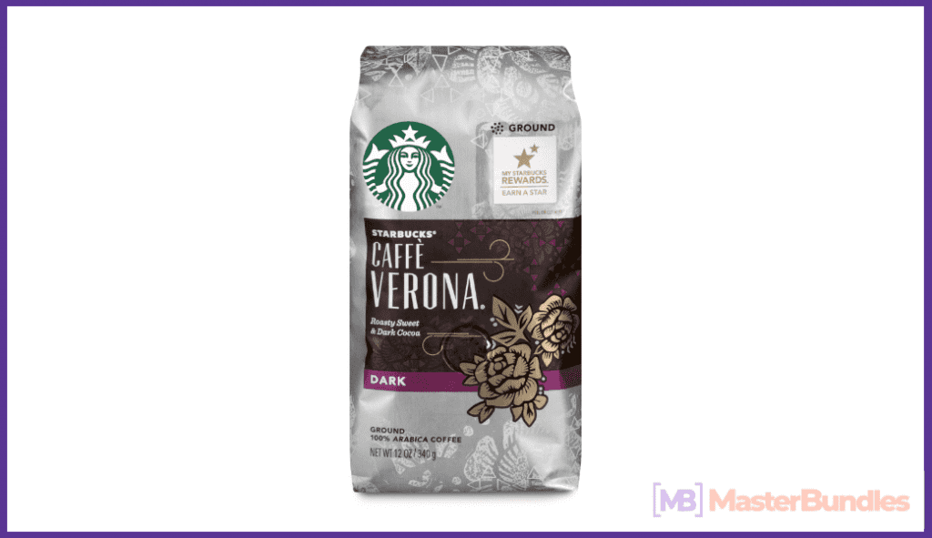A packaging of delicious Starbucks coffee. Now you can create your own Starbucks.