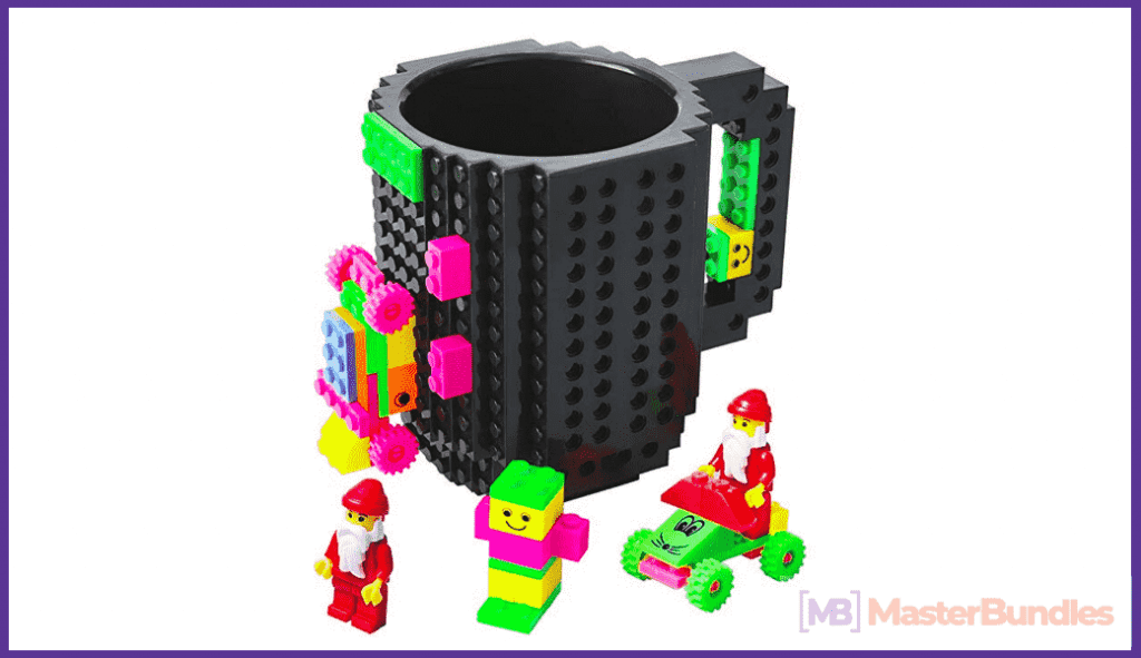 Lego constructor to create your dream cup.