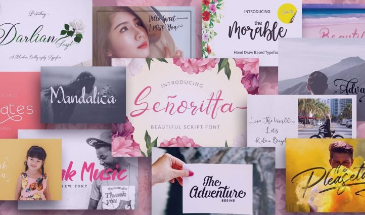 Examples Best Girly Fonts.