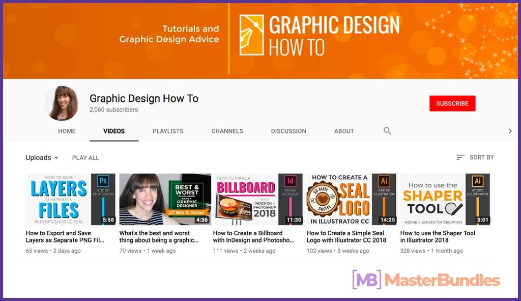 70 YouTube Channels For Learning Web Design in 2020 - graphic design how to 30