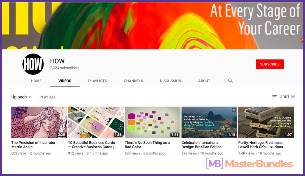 70 YouTube Channels For Learning Web Design in 2020 - how 34