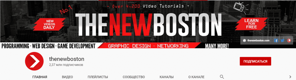 Top 65 Must-to-Know Youtube Channels 2020 to Learn Web Development - image1 3