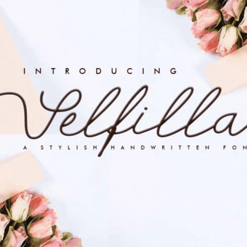 95+ Best Hand Lettering Fonts (Premium and Free) To Type the Most Important Words - image2 3