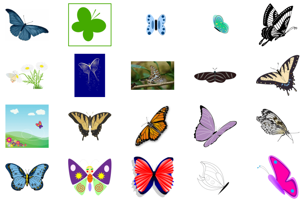 Best Butterfly Clipart 2021: What and Where to Search for? - image3