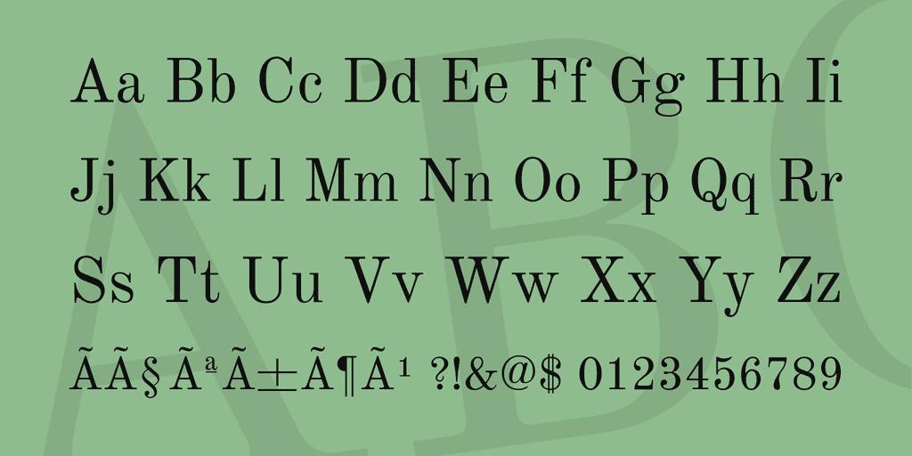 25+ Best Number Fonts in 2020 - image30 1