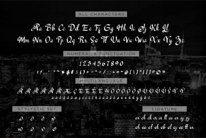 25+ Best Number Fonts in 2020 - image32 1