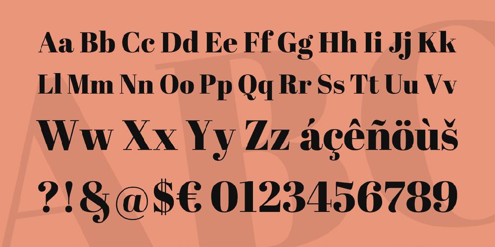 25+ Best Number Fonts in 2020 - image35 1