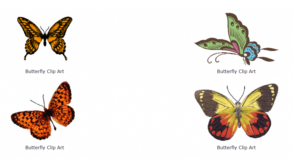Best Butterfly Clipart 2021: What and Where to Search for? - image4 1