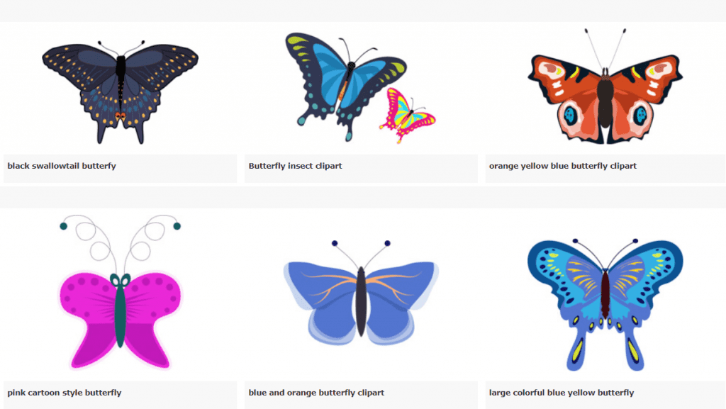 Best Butterfly Clipart 2021: What and Where to Search for? - image6