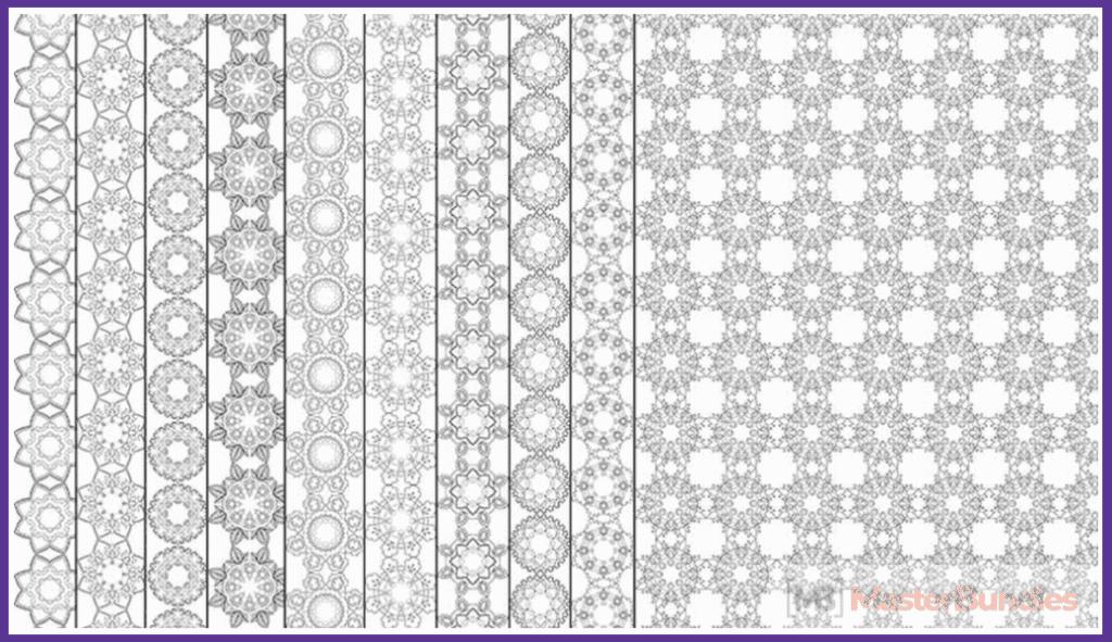 Black & White Mandala Patterns Collection