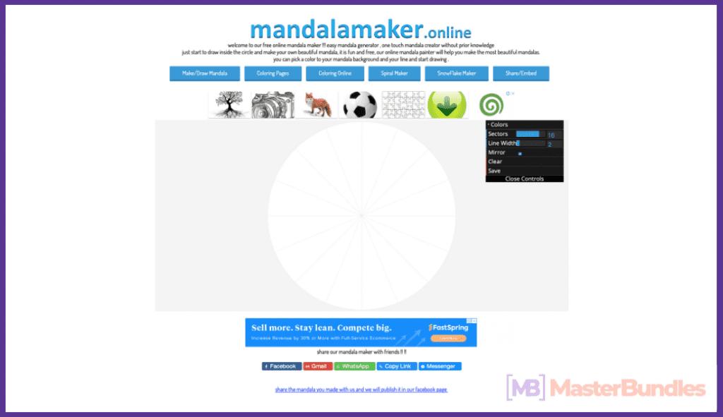 Mandala Maker Online.
