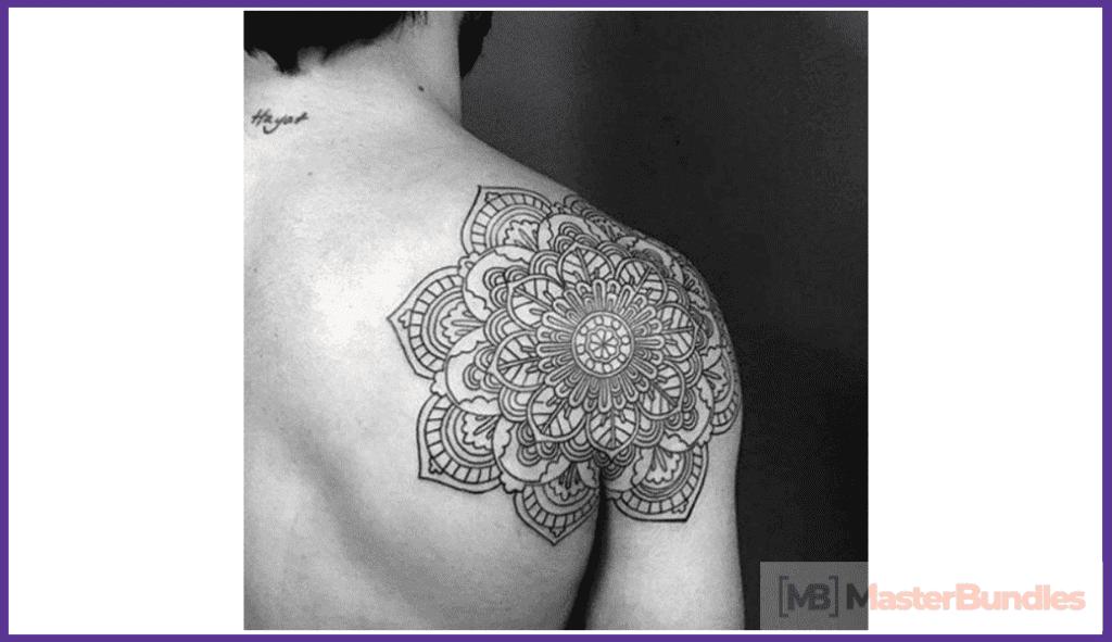 Mandala Tattoo Designs. Man.