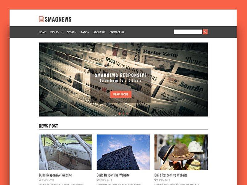 28 Premium HTML Templates Bundle - $5 - smagnews