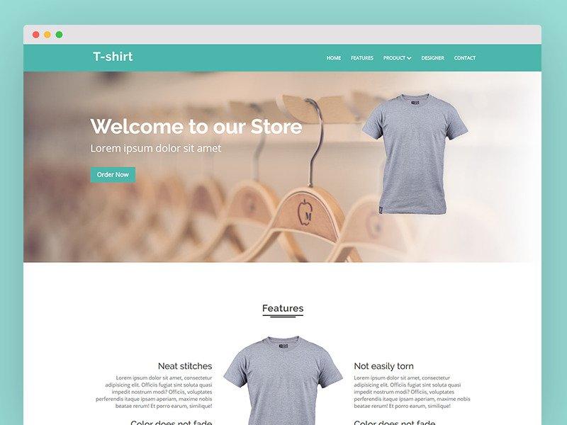 28 Premium HTML Templates Bundle - $5 - tshirt
